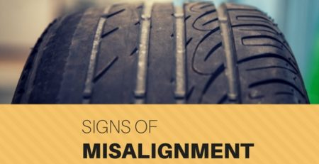signs of tyre misalignment